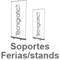 soportes para ferias y stand