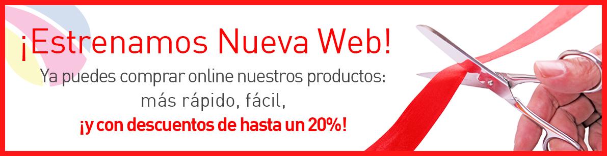 ¡Ahorra hasta un 20% descuento en tu compra Online!
